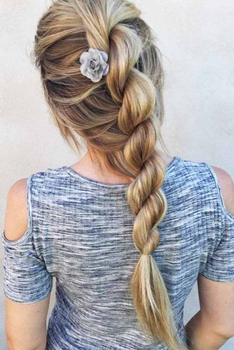 Rope Braid #braids #longhair