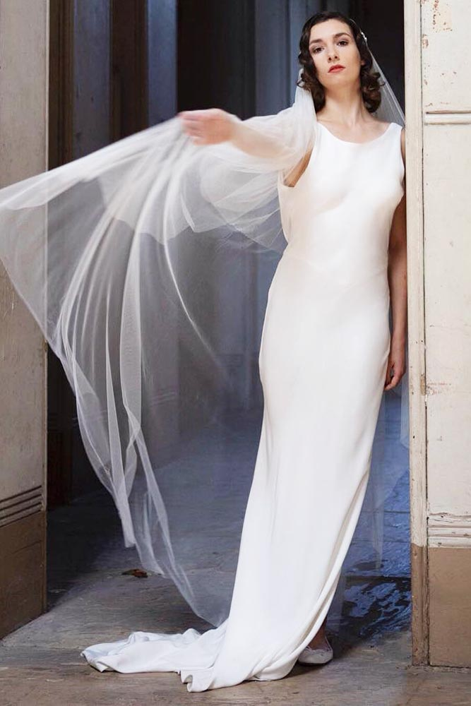 1930s Silk Gown Inspired #1930inspired #simpleweddingdress