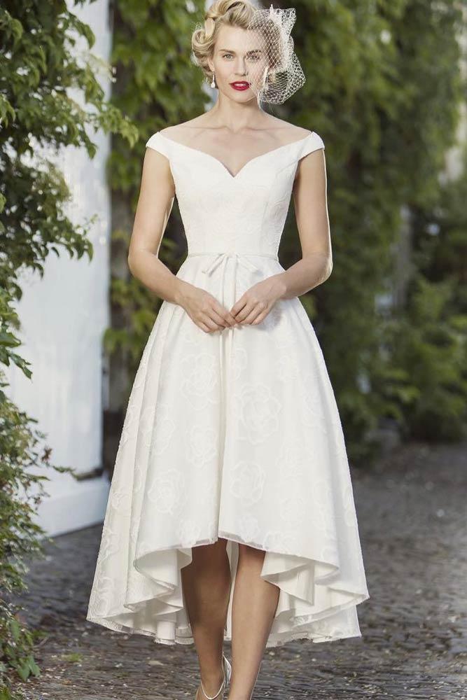 Asymmetrical 1950s Inspired Dress #asymmetricdress #1950