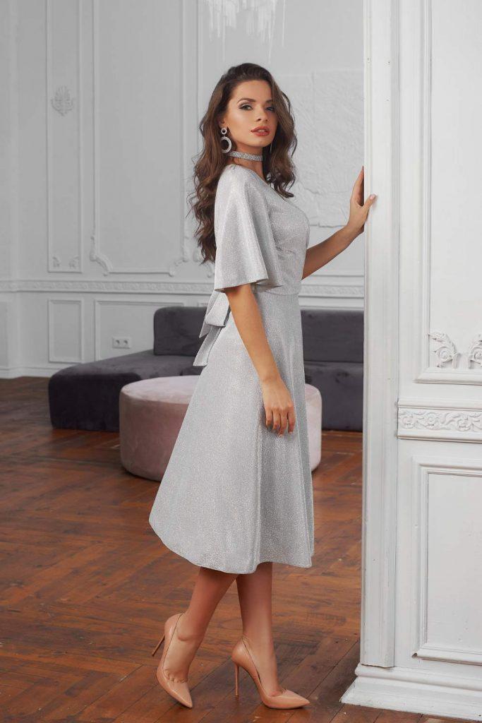 Silver Winter Dress