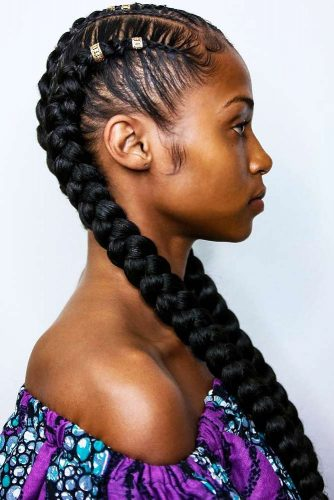 How To Style Box Braids #braids