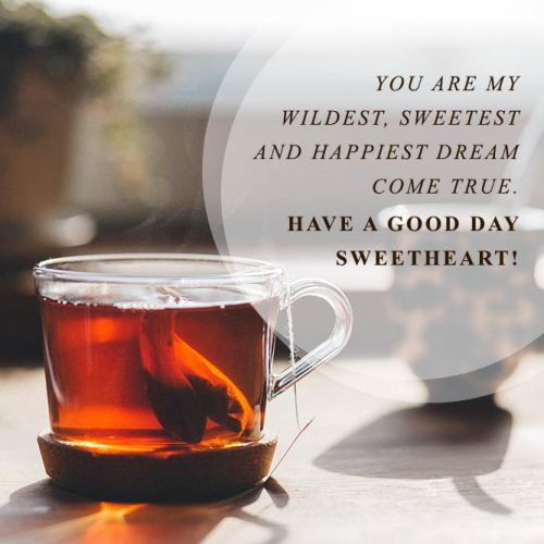 Have A Good Day, Sweetheart #insparation #insparationquotes