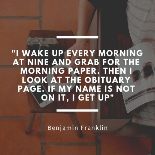 Benjamin Franklin #insparation #insparationquotes