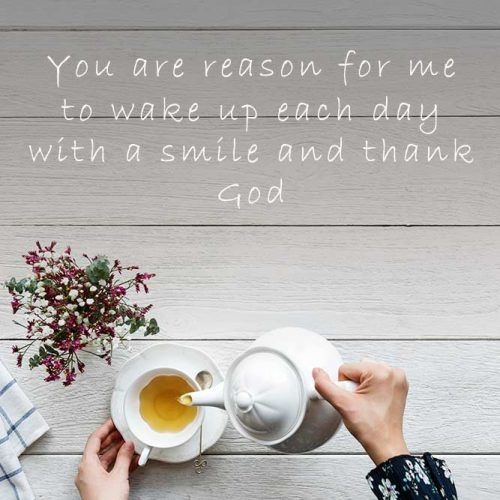 You Are My Reason To Wake Up #insparation #insparationquotes