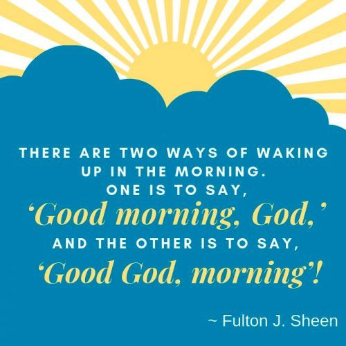 Good Morning, God #insparation #insparationquotes