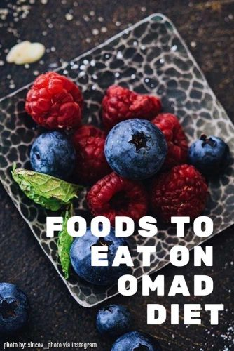 Foods To Eat On OMAD Diet #berries #fruits