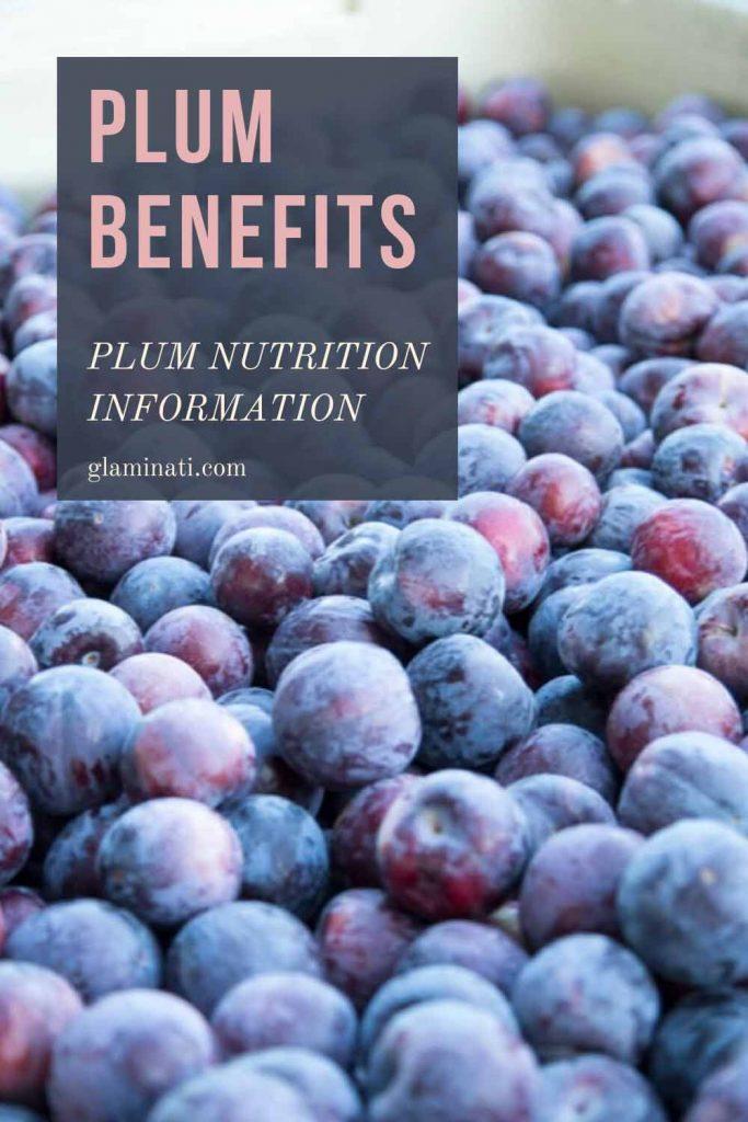 Plum Nutrition Information #plumnutrition