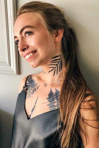 """Peekaboo"""" tattoo for fun #tattooedgirl"""