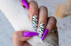 Zebra Print Nail Art Ideas That Are All Rage. Tutorial Provided