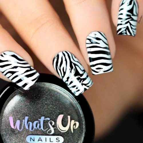 Zebra Print In The Fashion Industry #trendynnailart #prettynails