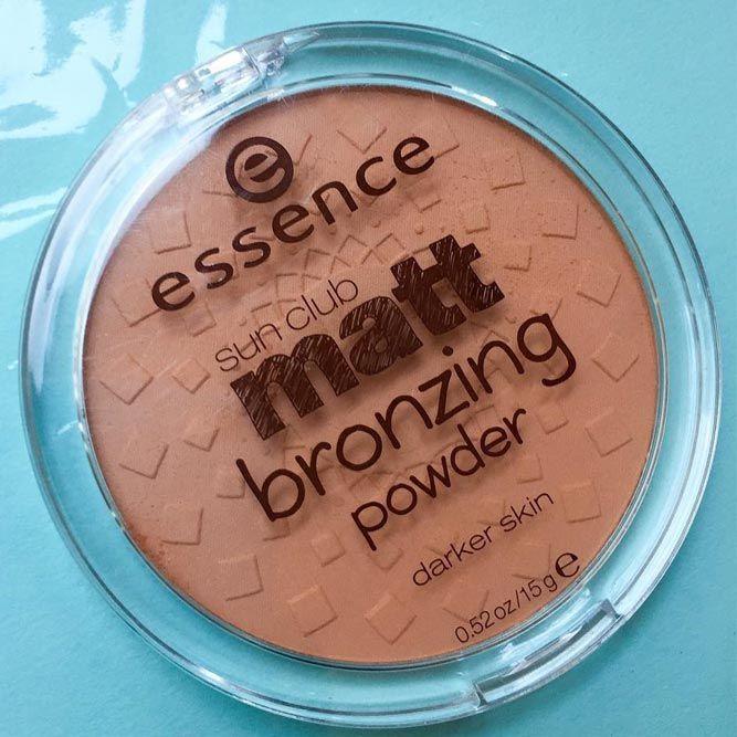 Essence Sun Club Matt Bronzing Powder #mattebronzer #essencebronzer
