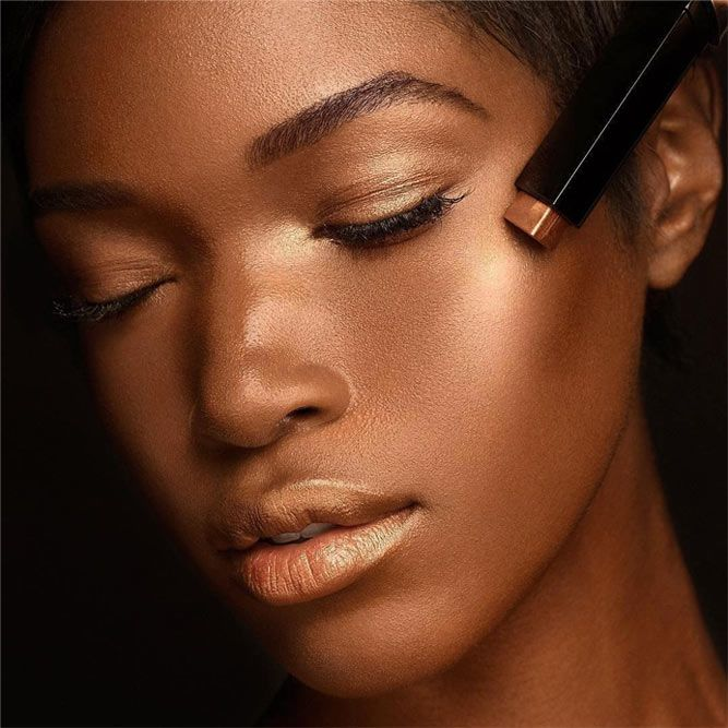 Tips On How To Choose And Apply A Bronzer Like A Pro #howtoapplybronzer