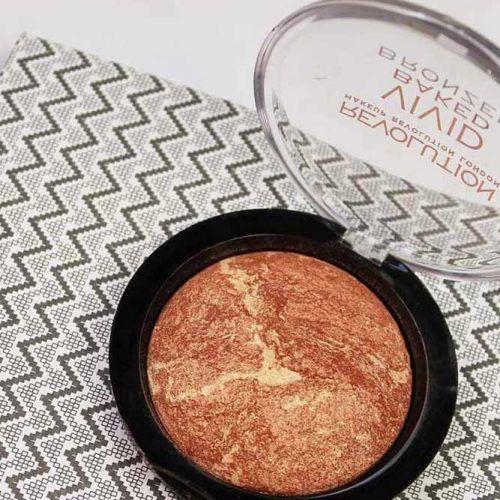 Makeup Revolution Vivid Baked Bronzer #makeuprevolution