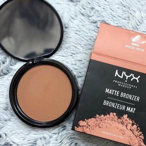 NYX Professional Makeup Matte Bronzer #mattebronzer