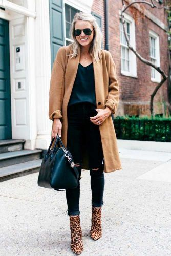 Casual Outfit With Oversize Coat