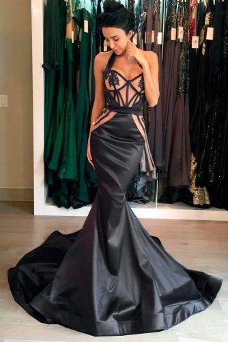 Black And Nude Wedding Dress #mermaidgown #elegantweddingdress