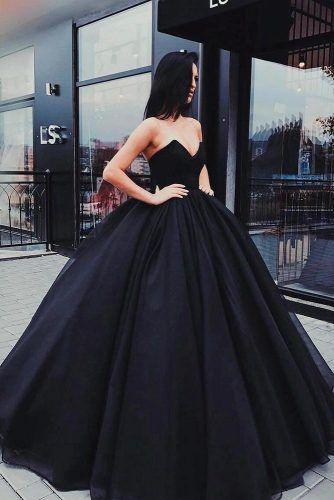 Strapless Ball Gown For Wedding #straplessdress #weddinggown