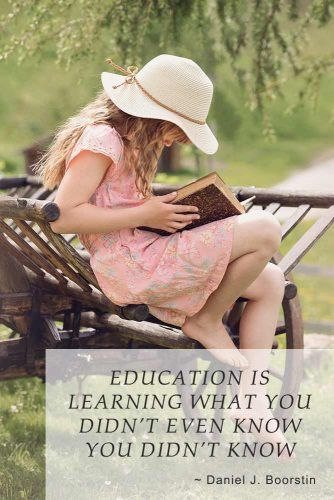 Education is learning what you didn't even know you didn't know #inspirationalquotes #lifequotes #truequotes