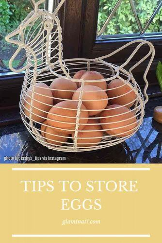 Tips To Store Eggs #tipstostorage