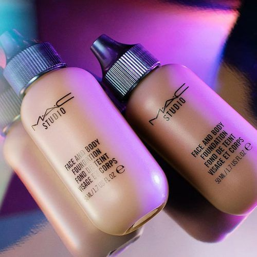 MAC Studio Face & Body Foundation #facebodyfoundation