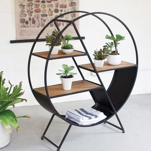 Metal Plant Stand With Shelves #metalplantstand #shelves