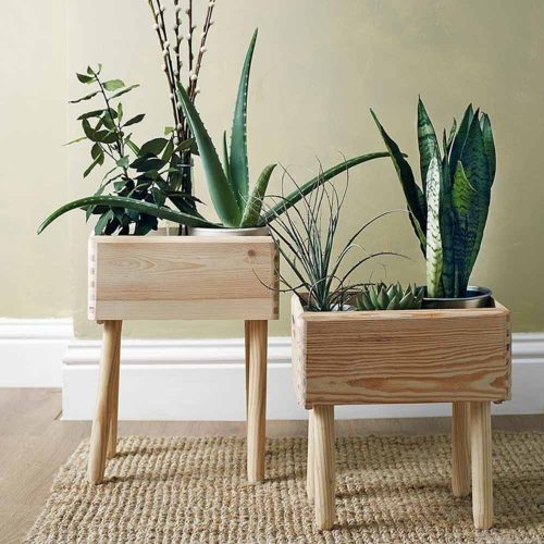Wooden Pots Design #naturalpots
