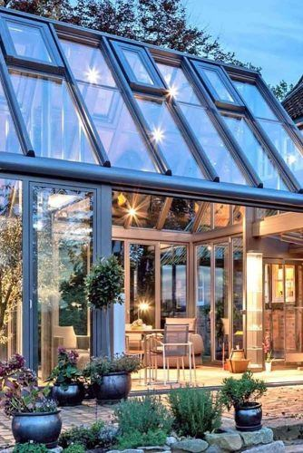 Cathedral Glass Sunroom Design #cathedralsunroom