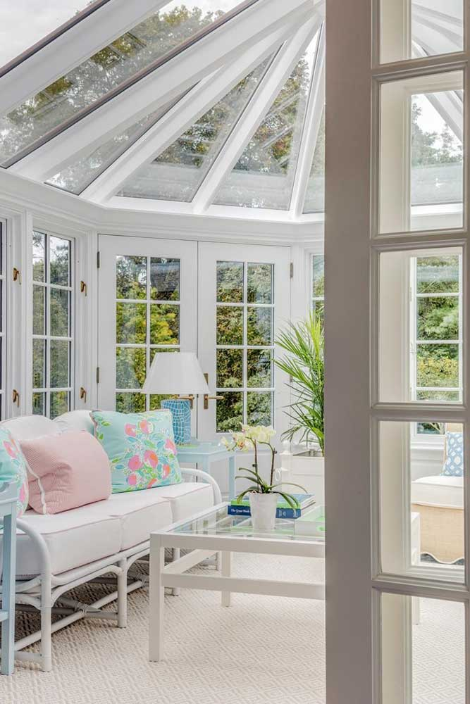 Three Season Conservatory Sunroom #conservatorysunroom #threeseason