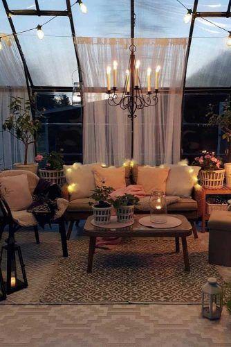 Solarium Sunroom With Plants And Rest Space #plants #solarium