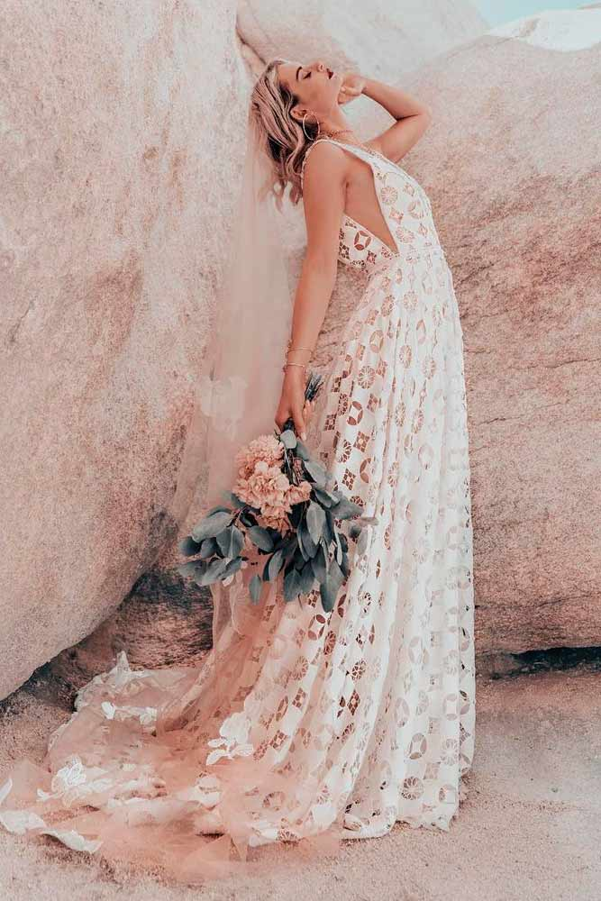 Casual Wedding Dress For Comfortable Look #simpleweddingdress #casualweddingdress