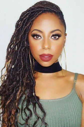 Crochet Into Goddess Locs #braids #longhair