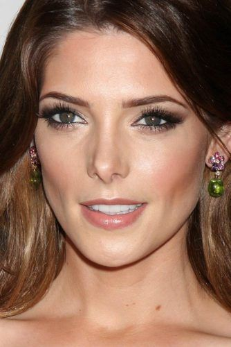 Ashley Greene With Diamond Face Shape #diamondface #celebrity #ashleygreene