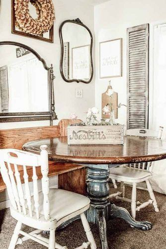 Antique Round Table Design #roundtable
