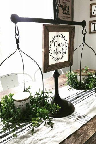 Little Scales Table Décor Idea #tabledecor