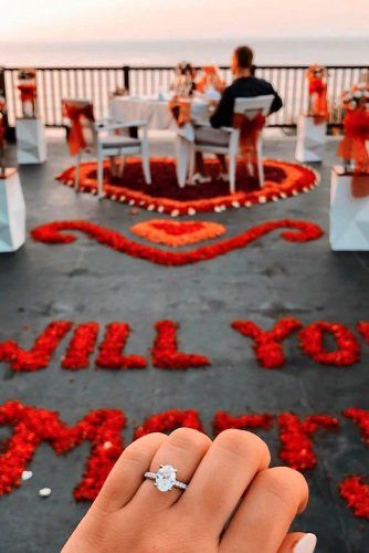 Add Some Creativity To The Proposal #romanticproposal #marriageproposalideas #love