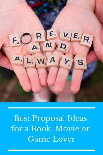 Best Proposal Ideas For A Book, Movie Or Game Lover #romanticproposal #marriageproposalideas #love