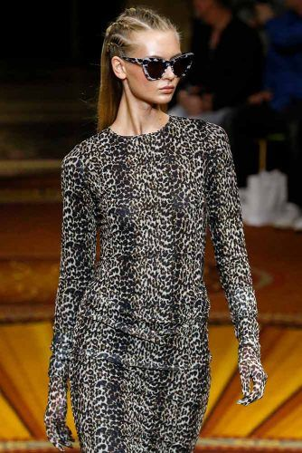 Christian Siriano Animal Print #christiansiriano #animalprint #bodycondress