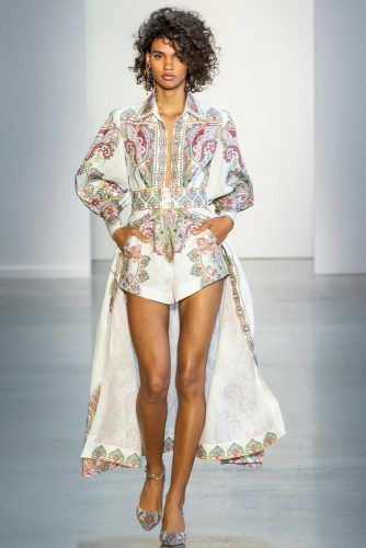 Zimmermann Gold Accent Collection On New York Fashion Week #zimmermann