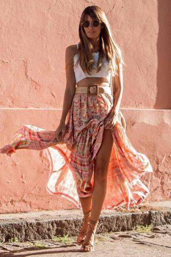 Maxi Skirts #maxiskirt #summerskirt