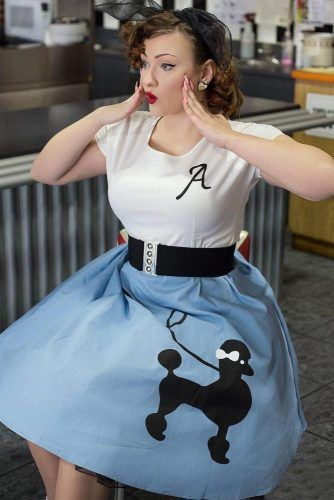 Poodle Skirt #poodleskirt #retroskirt