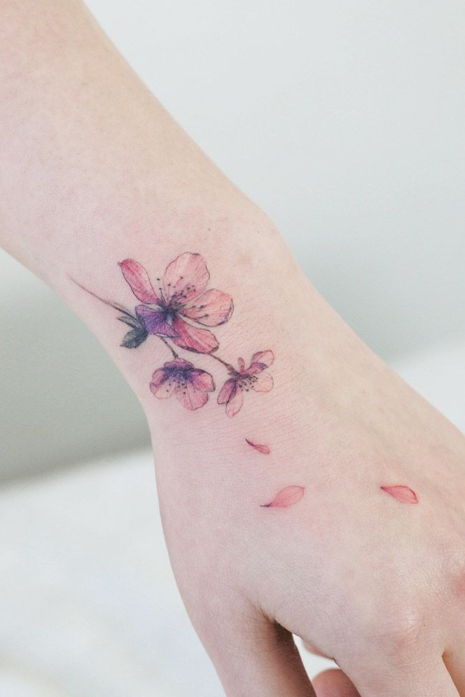 Symbolic Meanings Of Black Cherry Tattoo #wristtattoo #tinytattoo #smalltattoo