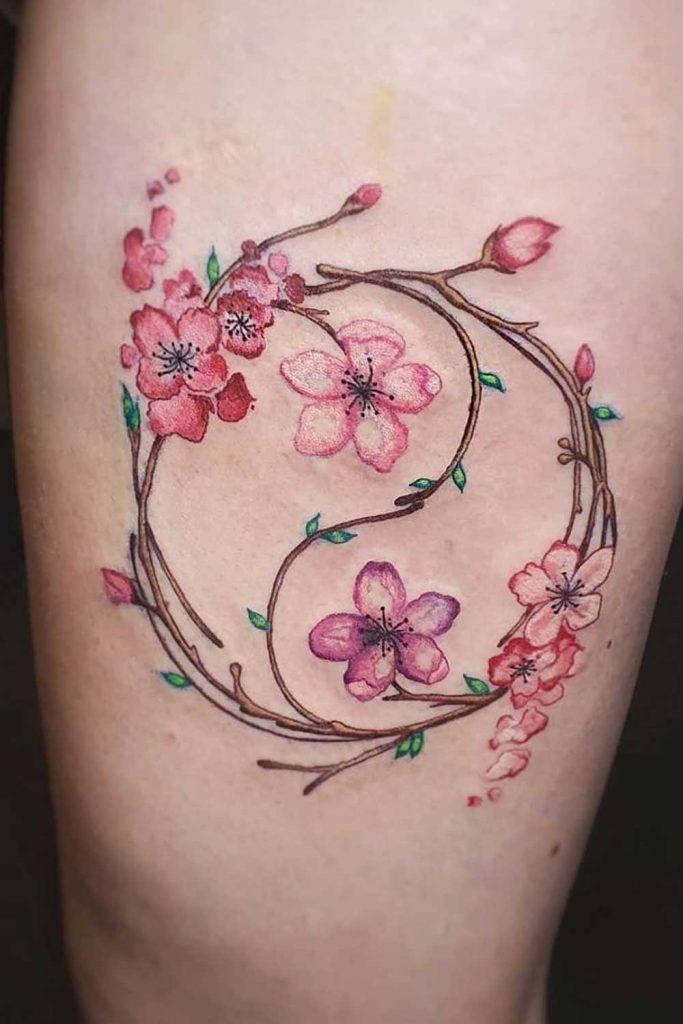 Yin Yangs Cherry Blossom
