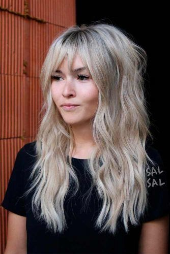 Bardot Hairstyle #blondehairstyles #shaggyhairstyles