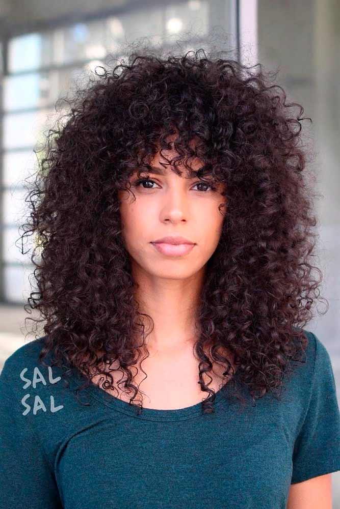 Long & Curly #curlyhairstyles #brownhair