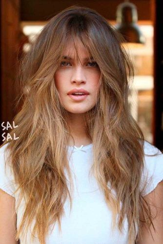 Long Hair With Bangs How To Choose Perfect Bangs For Your