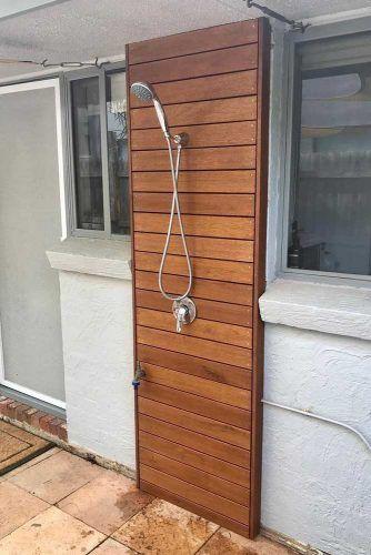 Wood And Handheld Spray Mixer Set Shower #spraymixer
