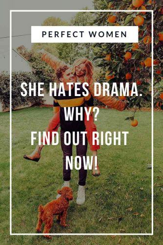 Perfect Women Hates Drama #relationship #love