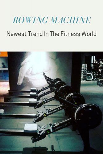 Rowing Machine - Newest Trend In The Fitness World #workout #