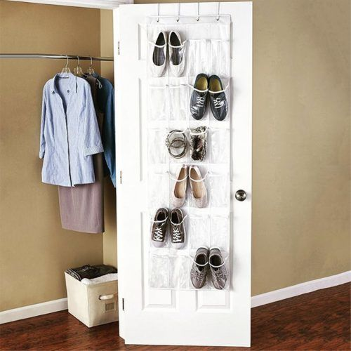 24-Pocket Shoe Organizer #pocketshoesorganizer