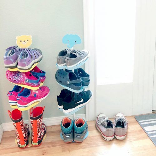 Kids Shoes Organizer #kidsorganizer